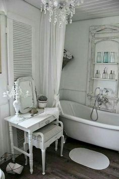 Find This Pin And More On Shabby Chic Bathrooms By Astrid Carlucci.