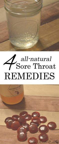 4 All-Natural Sore Throat Remedies