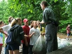 Geocaching at Reedy Creek Nature Center Charlotte, North Carolina  #Kids #Events