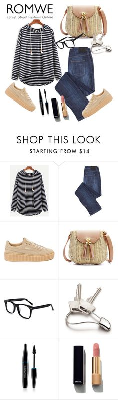 """Untitled #235"" by aazraa ❤ liked on Polyvore featuring Puma, Georg Jensen, MAKE UP FOR EVER and Chanel"