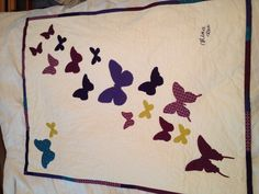 Butterfly quilt Coastalcrafter.blogspot.com