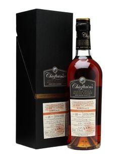 And last but certainly not least: A Chieftain's Mortlach 18 yo Sherry cask.