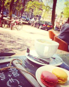 Hendrick's Gin, Macarons, Amsterdam, Steak, Alcoholic Drinks, Restaurant, Blue, Food, Diner Restaurant