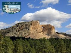 What is the best way to experience Crazy Horse Memorial, one of South Dakota's #TheGreat8:  A) The Volksmarch, a 6.2-mile hike to stand on the arm of greatness.  B) Three words: Laser Light Shows.  C) Get in touch with your roots at the Indian Museum of North America.