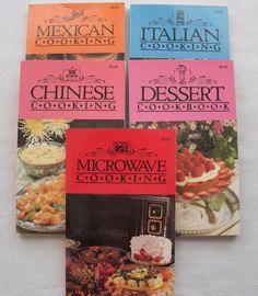 $3.00 Allen Publishing 5 books 1991 PB (8416-536) vintage cookbooks