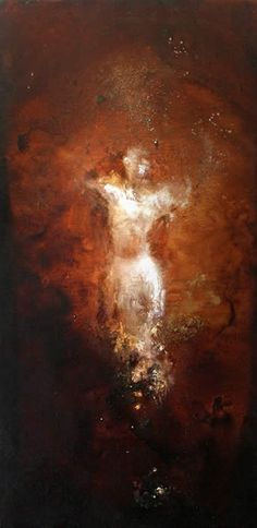 untitled figure i ~ mixed media ~ by tracy sharpe