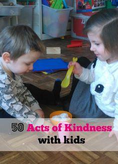 50 Random acts of kindness voor kinderen - Mamaliefde.nl