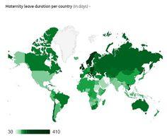 51% dos países atendem à norma estabelecida pela Organização Internacional do Trabalho sobre o benefício