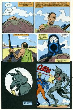 Animal Man #5. The Coyote Gospel. Morrison.