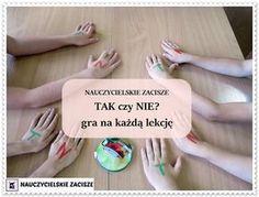 TAK czy NIE? gra dydaktyczna na każdą lekcję YES or NO? game for every lesson, easy to prepare
