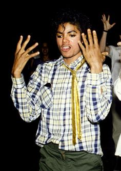 .Michael Jackson explaining math.
