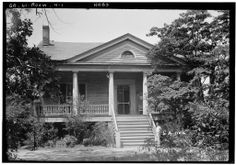 Holly Hill (Lewis Place), Roswell, GA.  Historic American Buildings Survey photo-1936.