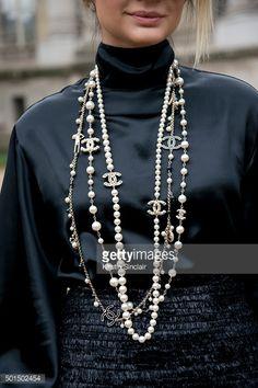 collares chanel perlas - Buscar con Google