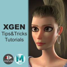 In this tutorials I'm gonna be showing some important tips and tricks for creating hair in XGen.