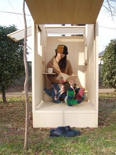 An amazing time out box for adults.  I could love a box like that if it had WiFi