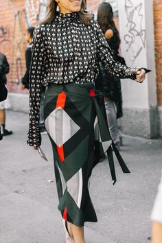 Street Style #MFW / Día 2 Fashion Week SS18