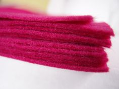 Felt - Fuchsia Pink - Kunin Eco Rainbow Classic Felt Made from Recycled Plastic Bottles Eco-Fi Eco Friendly Recycled Polyester by LoveEllieBagMaking Find it now at http://ift.tt/2lEyLLK!