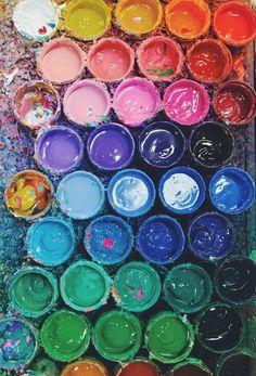 Imagem de paint, colors, and art