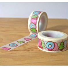 masking tape noël kawaii washi tape kawaï christmas