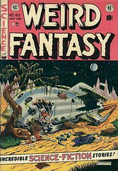 Al Feldstein 70s Sci-Fi Art