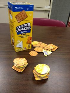 Speech Room News: Stacker Crackers-Opposites Game {product review & giveaway ends 2/10/14} Pinned by SOS Inc. Resources. Follow all our boards at pinterest.com/sostherapy/ for therapy resources.
