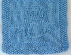 Free Penguin wash cloth knitting pattern. I feel like you could make this bigger, into a blanket, or maybe just knit a bunch of them together.