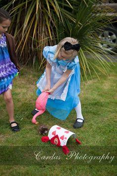 Alice in Wonderland birthday party 021