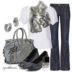 """""""Simply Gray"""" by cynthia335 on Polyvore"""