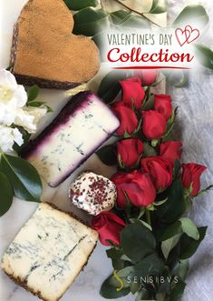 The perfect St Valentine's Gift basket for the lovers of gourmet food: blue cheese and chocolate, for a decadent pairing! This Valentine's gift box contains:  Ol Sciur - 8 oz Sant'Ambroeus - 8 oz Pevrin al Pepe Rosa - 4.8 oz Torta al Cioccolato - 1.4 oz #valentinesday #valentinesdaygiftideas