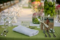 Magher home - Provence - party tablescape close-up