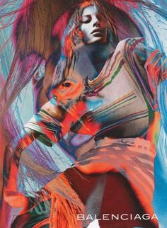 Balenciaga Ad S/S 2003Gisele Bundchen, Photography: David Sims