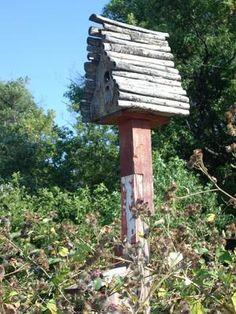 Thistle Bird house