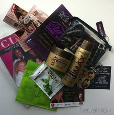 Gift Bags from the ROTC Curls Gone Wild Event....thank you!!! #naturalhair #events