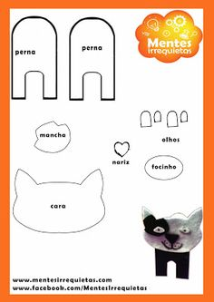 FELT/CARDBOARD CAT