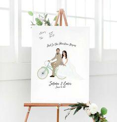 Leinwand Als Hochzeitsgästebuch Iges Bild Mit Textmarker Etwas Aufschreiben Oder Zeichnen