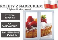 FOTOROLETY dla firm do kuchni reklama PROJEKT FREE