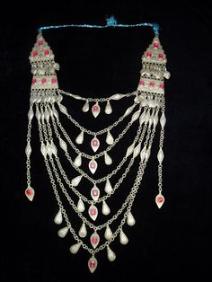 Tribal Collier aus Afghanistan Kandahar Vintage von neemaheTribal