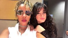 Camila Cabello with Ashlee Juno