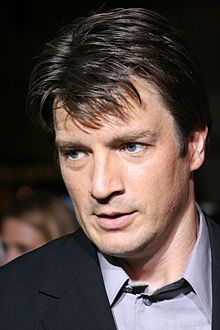 Nathan Fillion (born March 27, 1971 in Edmonton, Alberta) is a Canadian actor, currently starring as Richard Castle on the ABC series Castle. He is also known for his portrayal of the lead role of Captain Malcolm Reynolds in the television series Firefly and its feature film continuation, Serenity.
