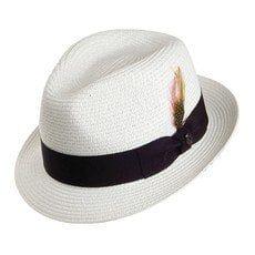 Jaxon & James Crushable C-Crown Fedora - Grey from Village Hats. Jaxon Hats, Bailey Hats, Metallic Scarves, Trilby Hat, Female Head, Short Legs, Barbour, Hat Sizes, Grosgrain