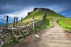 Pen-y-ghent (2,277 ft), Yorkshire Dales, England. One of a triumvirate of fells that I scaled in my youth. The others being Great Gable (2,949 ft) and Scafell Pike (3,209 ft). This may explain why I now live at 9,000 ft. in the Colorado Rocky Mountains :)