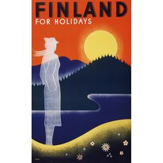 Finland for holidays / Juliste4