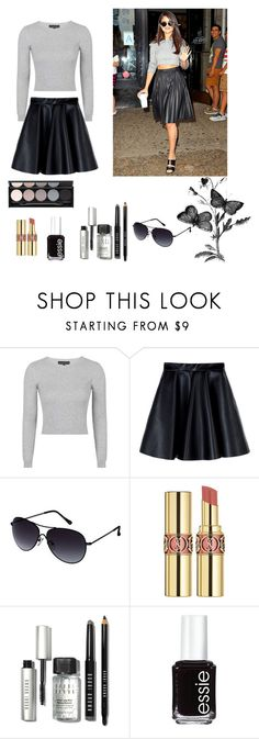 """Get the look"" by fatimanazstar ❤ liked on Polyvore featuring moda, Topshop, MSGM, Kenneth Cole Reaction, Yves Saint Laurent, Bobbi Brown Cosmetics, Essie, Witchery, women's clothing y women"