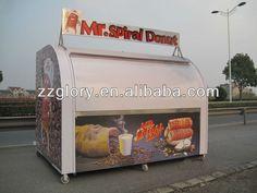 Novo design Móvel Street Food Vending Carrinho/Carrinho de comida de rua caminhão