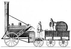 Stephenson's Rocket drawing - Rakieta (parowóz) – Wikipedia, wolna encyklopedia