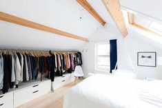 Impressive Keeping attic bedroom cool,Attic renovation ireland and Attic storage flooring thickness. Home, Home Bedroom, Dream Apartment, Building A House, Bedroom Design, Bedroom Loft, Loft Spaces, Attic Bedroom Designs, Storage