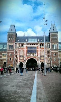 Rijksmuseum has literally just been done up and everyone says to go. But it's expensive.