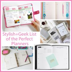Get ready for the #NewYear!  Stylish+Geek features a list of Perfect Planners for you Moms, Bloggers, Working Women, and more!   http://stylishgeekblog.com/home/2014/12/planner/