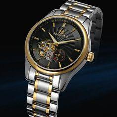 Online shopping Forsining classic full stainless steel bracelet china uhren montres de marque quartz watches for