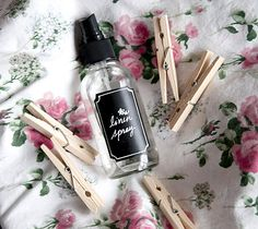 DIY: Lavender Linen Spray...so easy and so much cheaper than buying it!